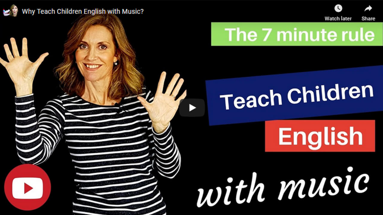 Why Teach Children English with Music
