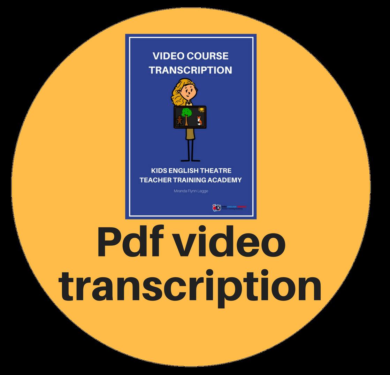 English Transcription Course Pdf
