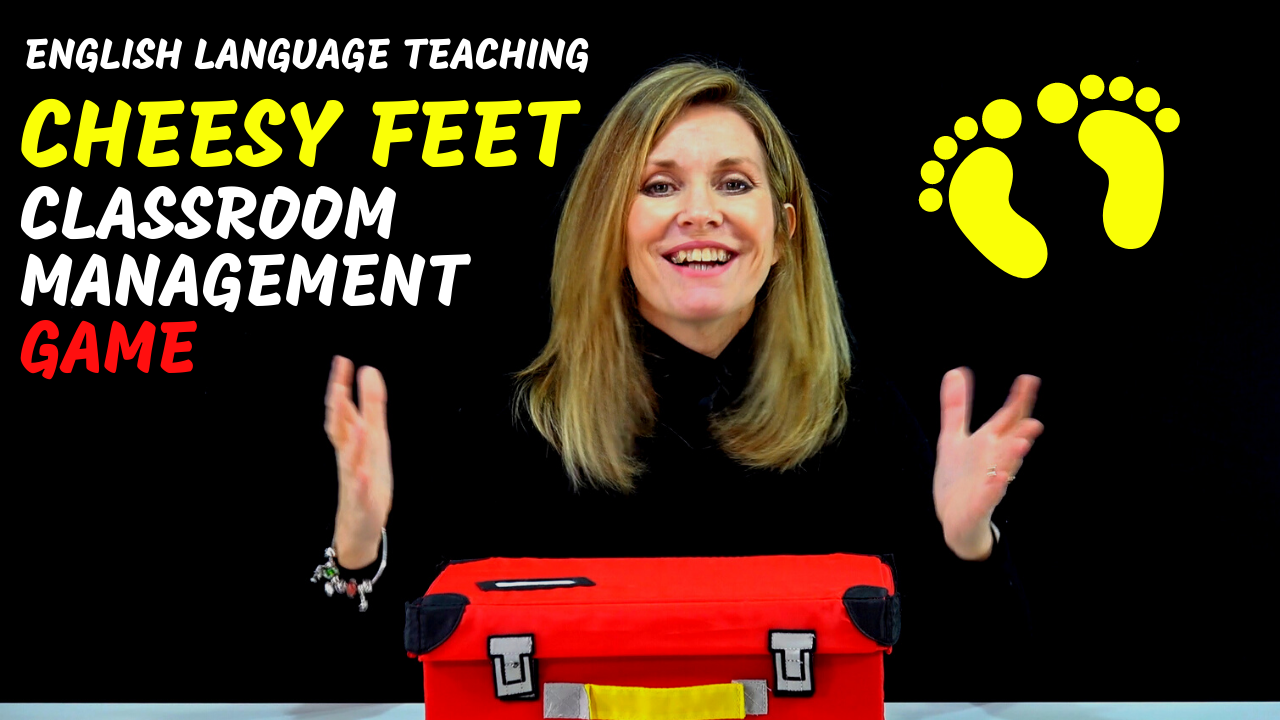 CHEESY FEET ESL Classroom Management Game